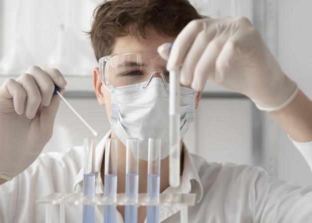 auxiliar de laboratório de entomologia médica