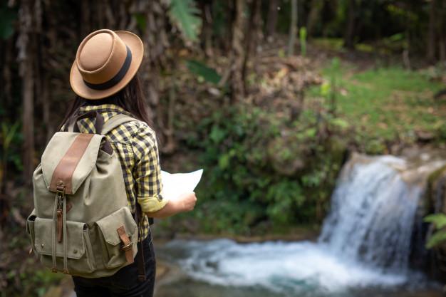 condutor de turismo em unidades de conservação ambiental local