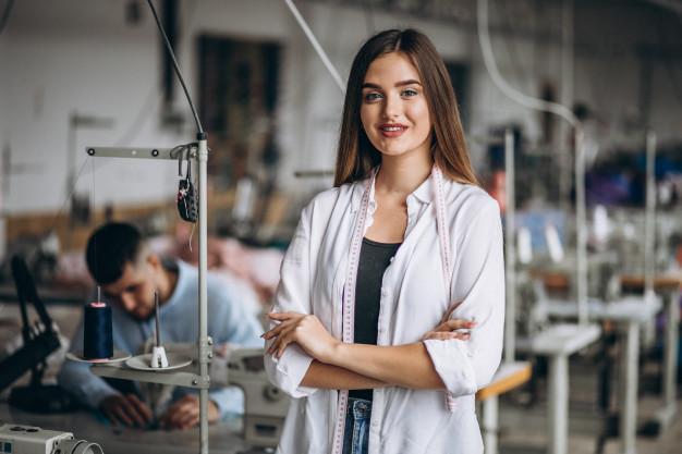costureiro industrial do vestuário