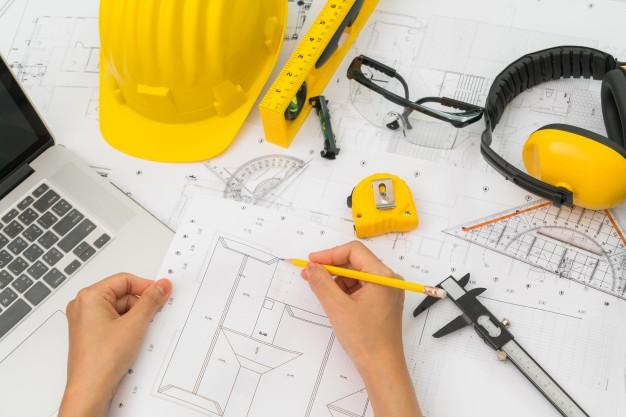 desenhista da construção civil